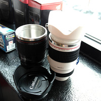 Wholesale Materials Direct - Best Camera Lens Thermos Tumbler Glass Stainless Steel Material Water Bottle  Mug For Coffee Or Tea