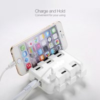Wholesale Galaxy Hub - 6 Port USB HUB 50W 10A 2.4amp MaxEach Desktop Power 3S for iPhone 6 6s Plus, iPad Pro Mini, Samsung Galaxy S7