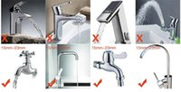 Wholesale Device Kitchen - Practical kitchen shower nozzle 1pcs Rotary anti splash tap water valve mouth filter economizer kitchen water-saving device