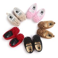 Wholesale elegant girls shoes - 5 colors new arrivals soft sole kids Girl baby first walkers little girl princess shoes kids elegant shoes