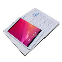 Wholesale tablet atom dual for sale - tablet inch Quad Core Atom TM CPU Z3735G Android mAh1GB GB tablet pc no Google Play add leather case as gift