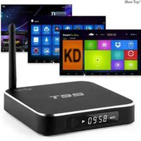 Compra Core Lead-T95 Android Amlogic S905 Media Player Supporto Quad Core 1GB 8GB kd 17.1 Android 6.0 4K streaming media player Display LED