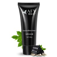 Wholesale mask nature for sale - 2017 AFY suction Black mask nose remover deep cleansing face mask face care nature Pore Cleaner black mud mask g