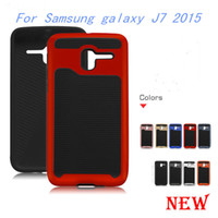 Wholesale Galaxy Wave Case - For Samsung galaxy J7 2015 J7 2016 S7 EDGE Armor Hybrid case For Coolpad catalyst 3623A 3622A Shockproof Impact Wave Lars Mars cover