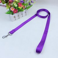 Wholesale Wholesale Quality Belts - 120cm long high quality nylon dog pet leash lead for seat belt harness lead for cat dog collar pets dog collars leashes leash