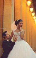 Wholesale Glaring Color Dress - glaring real photos Wedding Dresses sweetheart applique beaded a line Lace zipper Wedding Gowns ball gowns Vestidos De Novia court train