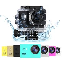 Wholesale hd camcorder cheapest - Cheapest copy for SJ4000 A9 style 2 Inch LCD Screen sports camera 1080P Full HD Action Camera 30M Waterproof Camcorders Helmet Sport DV