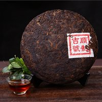 Wholesale Natural Tea China - Promotion! Chinese yunnan puer China ripe pu'er natural organic pu er tea+Secret Gift+Free shipping