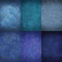 tela de fondo para la fotografía al por mayor-Custom 5X8FT azul Chormakey nublado para estudio fotografía fondo cámara boda apoyos fotos telones de fondo de vinilo digital tela niños bebé