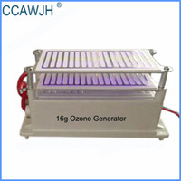 Wholesale Portable Ozone - 16g Ozone Generator with Double Ceramic Plates Get Rid of Odor and Kill Bacteria Good Heat Dissipation +Free Shipping
