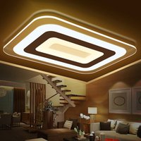 Wholesale Led Features - Dimmable Pendant Light LED Ceiling Light Acrylic Decorative Lampshade Pendant Light with Dimming Feature Romote control