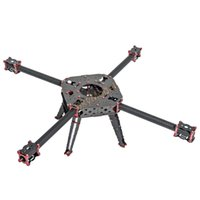 Wholesale Powerful Electric Motor - Powerful Classic UAV 760mm Wheelbase 25mm tube Carbon fiber Quadcopter Drone Fixed Frame kit with Landing Gear