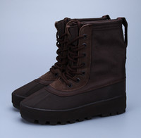 Wholesale Classic Leather Boots For Men - with Original Box Adidas Yeezy 950 Boot Peyote Moonrock Chocolate Pirate Black Boots For Women Men Kanye West Shoes Classic Sports Sneaker