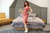 Wholesale Cheap Tailored Dresses - cheap korean tailored collar dress sleeveless empire waist dress elegant party asymmetrical dresses for summer women