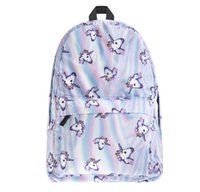 Wholesale Shoulder Girls School Bags - Unicorn Emoji Backpacks for High School Backpacks Emoji Monkey Printing School Bag For Teenagers Girls Shoulder Bag Vintage Mochila 788