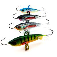 Wholesale Ice Jigs - Winter Fishing Lure Ice Fishing Jig Bait 6CM-10.5g Carp Fishing hooks Lead Hard Lure 10# Pesca Tackle