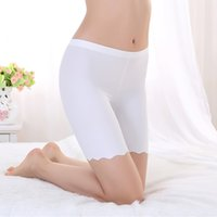 Wholesale Underwear Boy Hot - 3PCS Hot Sale Summer Seamless Safe Short Underpants for Women Smooth Silky Underwear Great Elasticity XL 2XL 3XL 4XL Free Shipping