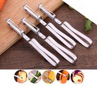 Wholesale Potato Cutter Stainless - Stainless Steel Cutter Vegetable Fruit Apple Slicer Potato Peeler Parer Tool