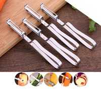 Wholesale Metal Slicer - Stainless Steel Cutter Vegetable Fruit Apple Slicer Potato Peeler Parer Tool
