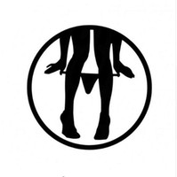 vinyl-aufkleber-design für autos großhandel-8 * 8 CM Sexy Panty Dropper Kreative Auto Aufkleber Decals Spaß Cartoon Motorrad Aufkleber Auto Dekoration Styling C2-0353