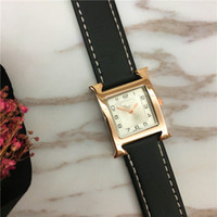 Wholesale multi spotlight for sale - Group buy Fashion Lady Watches Multi Colors Top Brand H female clock Student Luminous Relogio Masculine Square Dial Face Party Spotlight