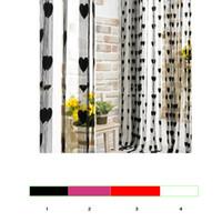 Wholesale Sheer Curtains Tassels - Wholesale-Tassel Line String Drape Sheer Curtain for Wall Door Window Vestibule Home Decoration Cortina Divider For Living Bedroom