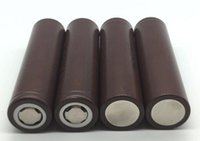 Wholesale Electonic Cigarettes - HOT 18650 HG2 3000mAh Capacity Max 35A High Drain Batteries Rechargable Lithium Battery HG2 For Electonic Cigarette 100W