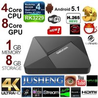 Wholesale Free I8 Mini keyboard D5 Android TV Box G G RK3229 Quad Core CPU Fully Loaded TV Box K Dual Band Streaming Media Player