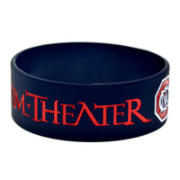 Wholesale Dream Jelly - Wholesale 50PCS Lot 1'' Wide Band Dream Theater Silicone Bracelet, Show Your Support For Them By Wearing This Wristband