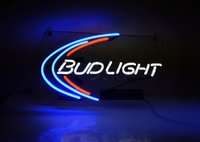 Wholesale Lighted Tire Signs - New Tat tire Neon Beer Sign Bar Sign Real Glass Neon Light Beer Sign TN 158 bud light 15x10 001