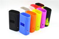 vape skins sigelei großhandel-Sigelei Kaos Silikonhülle Silikonhülle Tasche Bunte Gummihülle Schutzhülle Haut für Sigelei Spectrum 230w Box Mod Vape 10 Farben