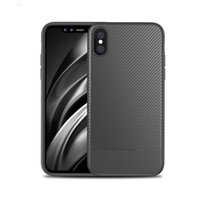 Wholesale Materials For Drawing - Fashion Shockproof Armor Case For iPhone 8 i8 Carbon Fiber TPU Drawing Material Mobile Phone Cases Cover