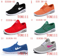 Wholesale Pvc Shipping Tags - New HOT Arrival Mens Running Shoes With Tag New fashion SB Stefan Janoski Max Mens and womens Fashion Sneakers shoes EU36-45 Free Shipping