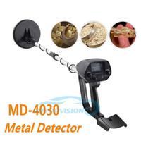 Wholesale Gold Detector Scanner - MD-4030 Underground Metal Detector Gold Detectors MD4030 Treasure Hunter Detector Circuit Metales Finder Tracker Scanner ann