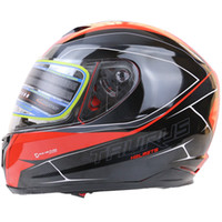 Wholesale Ece Motorcycle Full Face Helmet - Wholesale- NBR DOT, ECE approved full face motorcycle helmet safety motorbike Helmet S,M,XL,XXL available for man and woman rider's gear
