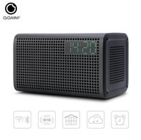 Wholesale Mini Home Alarm System - GGMM E3 WiFi Wireless Bluetooth Speaker Audio Music Home Theatre Stereo System Computer Speakers with LED Alarm Loudspeakers