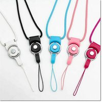 Wholesale lanyard cable online – hot selling cellphone straps detachable lanyard ring charms hanging cable for samsung iphone smart cellphone MP3 MP4 ID HOLDER also OK