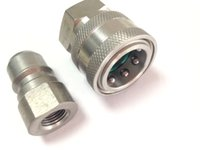 """Wholesale Quick Coupler Plug - Wholesale- Pressure Washer G1 4"""" Female ARS350 Series Stainless Steel Quick Connect Coupler Metal plug set"""