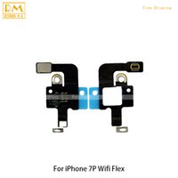 Wholesale Signal Antenna Cable For Phone - Original 5pcs lot For iPhone 7 7G, 7 Plus WIFI Signal Antenna Wire Aerial Mast Flex Cable Ribbon Repair Replacement Phone Parts 5.5 Inch