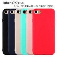 Wholesale Tpu Cute Candy - Cute Candy Colors For Iphone 8 Ultrathin Soft TPU Mobile Phone Case For iPhone8 7Plus Capa Cell Phone Cover For iphone 8