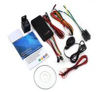 устройство слежения за автомобилем оптовых-2016 автомобильный GPS трекер SMS GSM GPRS автомобиль онлайн система слежения монитор авто пульт дистанционного управления сигнализация для мотоцикла локатор устройства