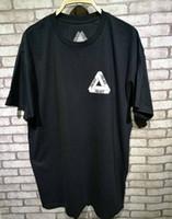 Wholesale Basic Black T Shirt - 2017 New Palace Skateboards Classic Triangle Print Mens T Shirt For Men Basic Summer Noah Clothing Cotton Short Sleeve Tees Tops
