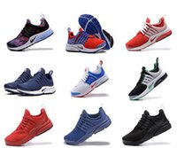Wholesale Sneakers Holes - 2017 AIR PRESTO free shipping Hot Sale New Arrival Men's Big Holes Running Shoes Men Athletic Sports Sneakers