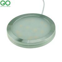 ingrosso lampada da tavolo 12v-Luci LED per armadio da 2,5W 12V Dimmable Home Under Cabinet Lampada 12SMD 2835 Luci risparmio energetico cucina Desk Box Showcase Lamps