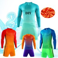 Wholesale long sleeve diy - Orders Are Welcome! Football training suits, sportswear, sportswear, long sleeves, DIY training teams can process names and numbers. Free fr