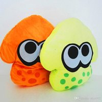 squid pillow - 2 Color quot cm Orange Green New Japan F S Splatoon Inkling Squid Pillow Plush doll stuffed Animals Toy