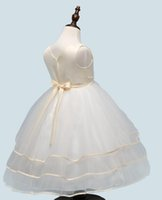 Lace up Flower Girl Dress Princess Kids Pageant Party Dance Wedding Birthday Gown длинное юбковое платье