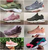 Wholesale Elephant Fabric Grey - Huarache iD Atmos Elephant Print 1 One Running Shoes Men Women Huaraches Green White Pink Grey Purple Sneakers Sport Athletic Trainers 36-45