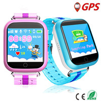 Wholesale Sos Devices - Q750 Kid Smart Watch smart watches GPS Wifi android smartwatch 1.54 Inch Touch Screen SOS Safe Anti-Lost Location Device Tracker