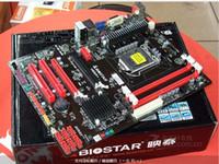 desktop ddr3 al por mayor-Placa base 100% original para las placas de escritorio de la placa base Biostar H55A + LGA 1156 DDR3 RAM 16G